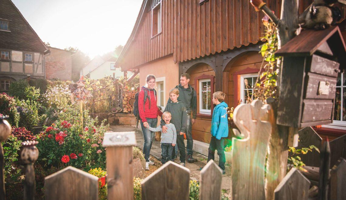 … und traditionsreiche Orte mit alten Umgebindehäusern © Philipp Herfort Photography
