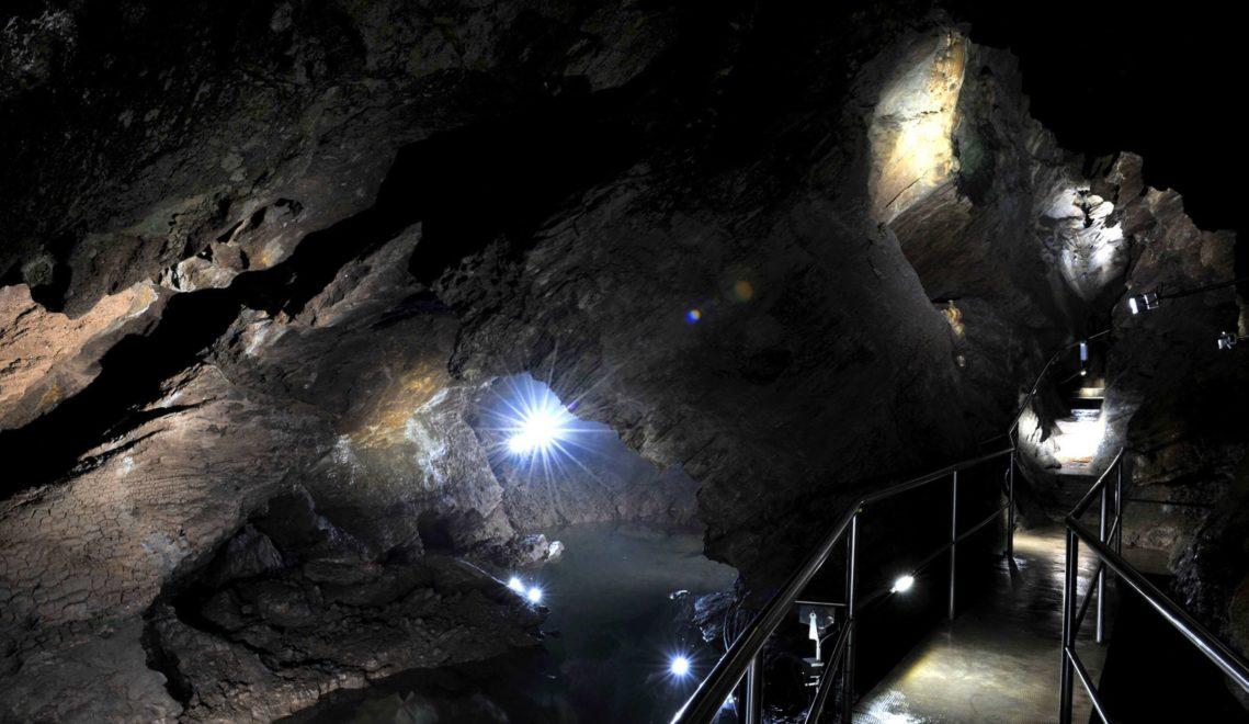 In der Drachenhöhle herrscht eine fast mystische Stimmung ©Andreas Wetzel