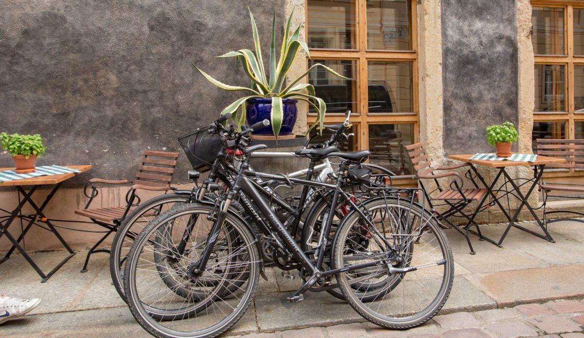 Pause gefällig? Die Altstadt von Pirna ist perfekt geeignet für eine Rast © Katja Fouad Vollmer