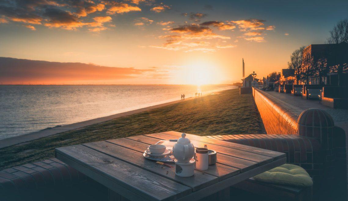 Romantik pur am Südstrand – ein Lieblingsort vieler Wilhelmshavener © Rainer Ganske