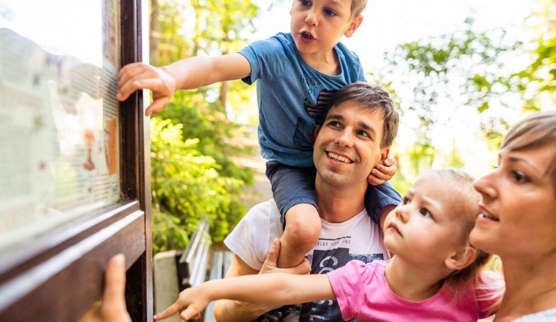 In Sachsen gibt es viele Wanderwege, die perfekt für Familien geeignet sind © Thomas Schlorke