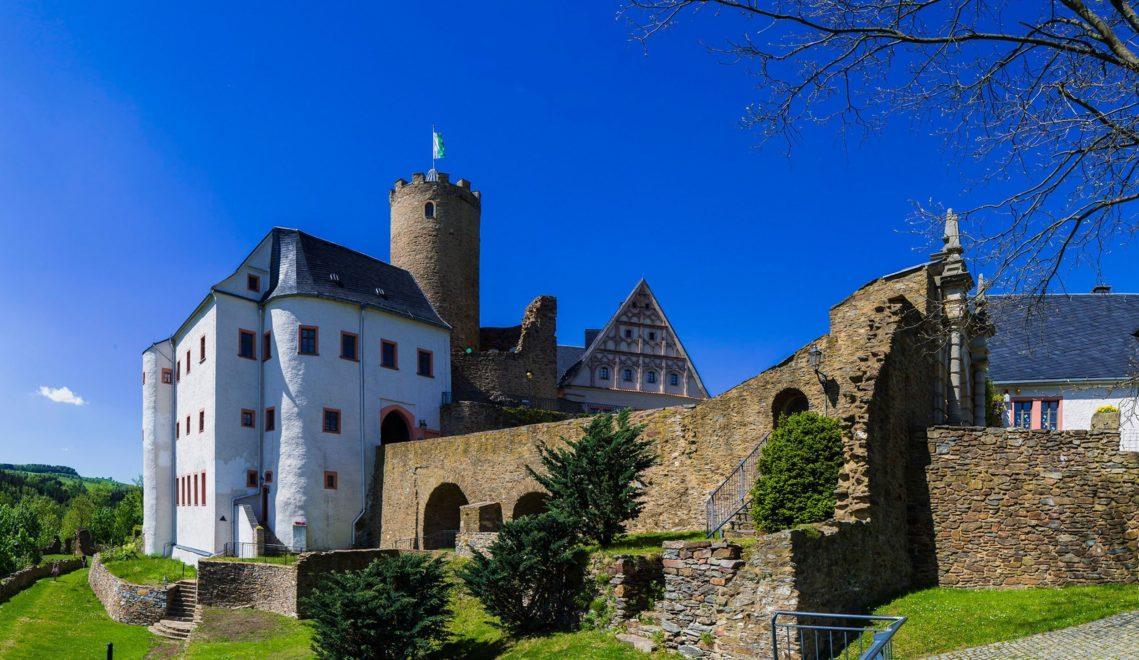 Die Burg Scharfenstein ist die Familienburg unter den trutzigen Bauten der Gegend © ASL Schlossbetriebe gGmbH/Sylvio Dittrich