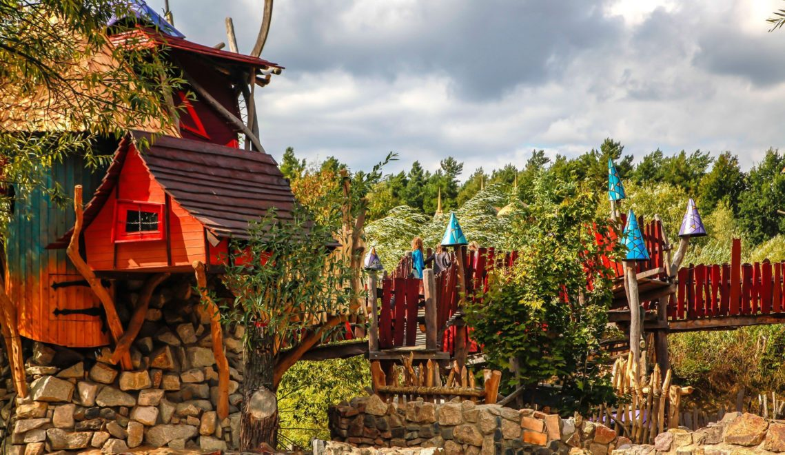 """Ein Abenteuer unter freiem Himmel ist """"Die geheime Welt von Turisede"""" © Kulturinsel Einsiedel"""