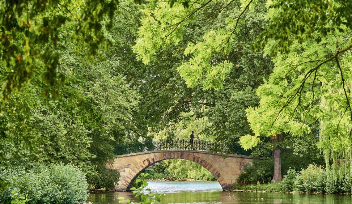 Brücke im Georgengarten von Herrenhausen