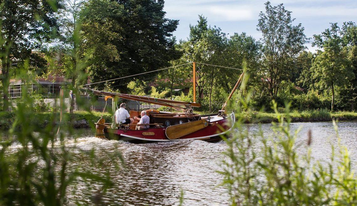 Boot auf Dortmund Ems Kanal 2