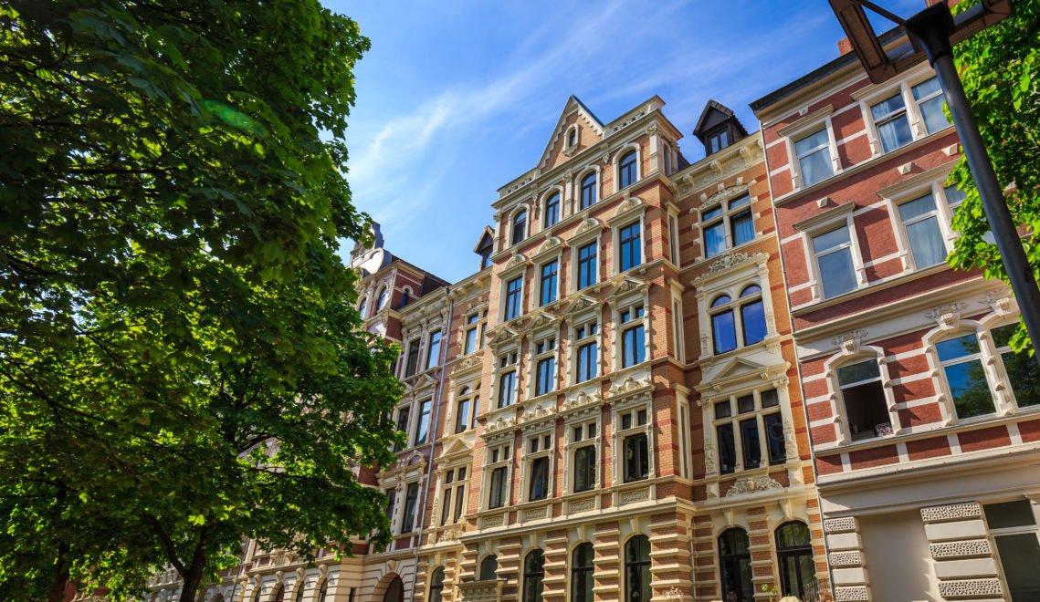 Jugendstilfassaden in Hannover