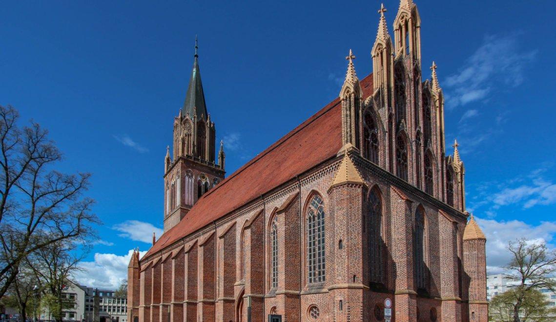 Die Konzertkirche St. Marien in Neubrandenburg