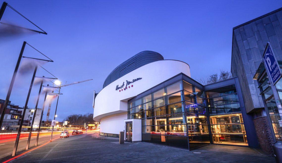 Gute Adresse für nasses Wetter: eines der Museen und Ausstellungshäuser, hier dem Künstler Horst Janssen gewidmet © Oldenburg Tourismus und Marketing GmbH / Mario Dirks