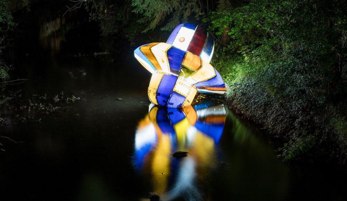 Und plötzlich ist da ein Ufo… stranded drifter, 2020 von Sven-Julien Kanclerski © Stadt Braunschweig/Daniela Nielsen
