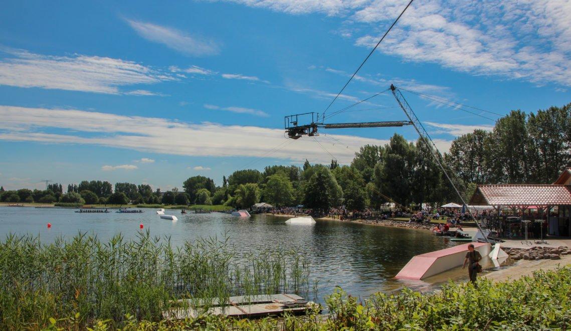 Wasserskianlage am Reitbahnsee