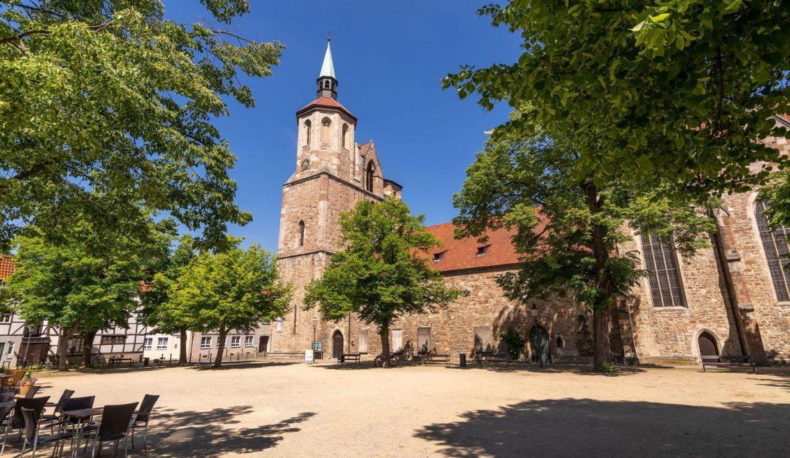 Die Magnikirche aus dem frühen 11. Jahrhundert zählt als das älteste Gebäude der Welfenstadt © Braunschweig Stadtmarketing