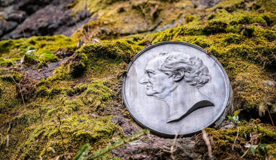 Alles Goethe auf dem Goethewanderweg am Schwalbenstein © Dominik Ketz