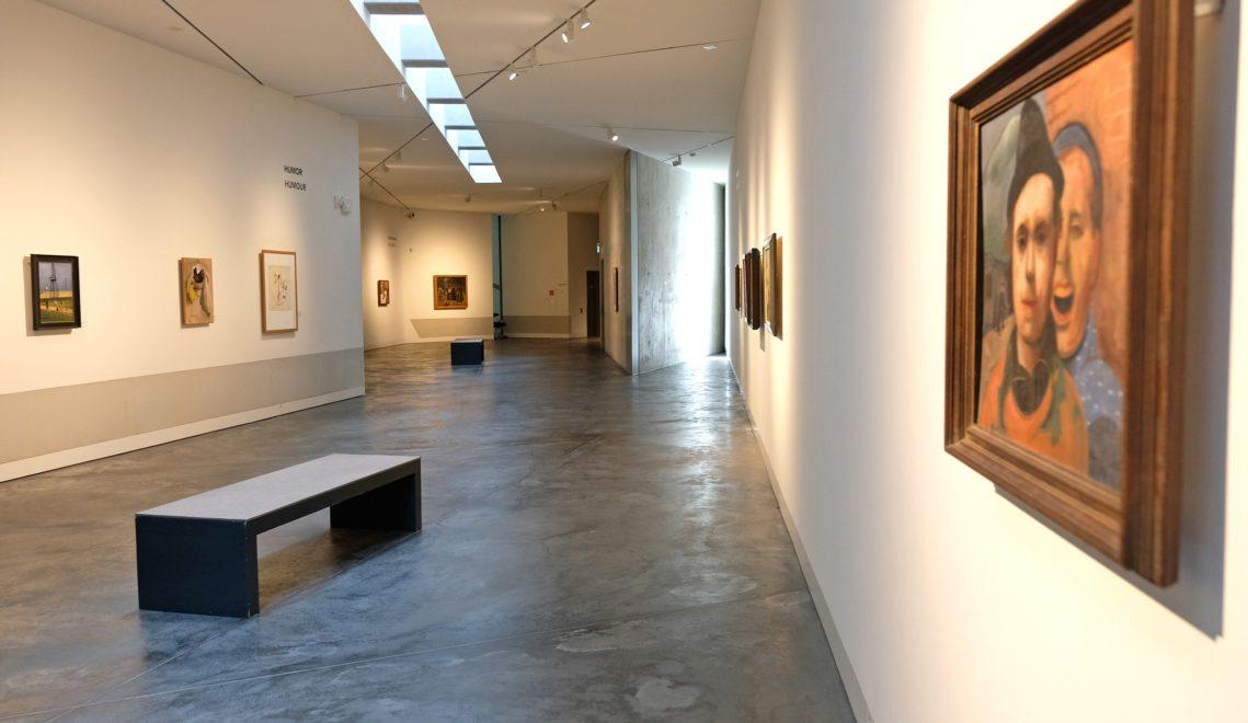 Darin sind mehr als 200 Werke des in Auschwitz ermordeten Osnabrücker Malers Felix Nussbaum zu sehen © Christoph Mischke