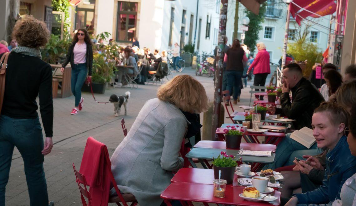 In der Osnabrücker Altstadt gibt es Restaurants von vegan bis Sterneküche © Larissa Volz
