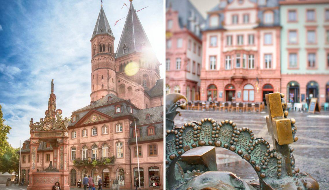 Beim Flanieren durch die Altstadt um den Dom tauchst du ein in Mainzer Geschichte