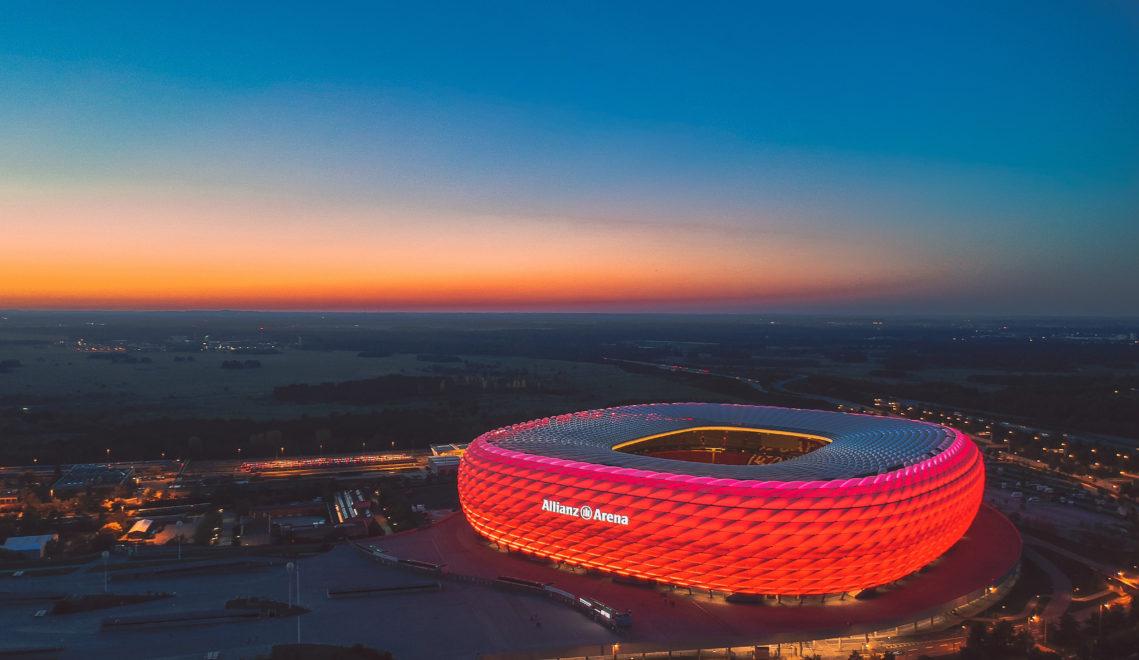 Die berühmte Allianz Arena in München