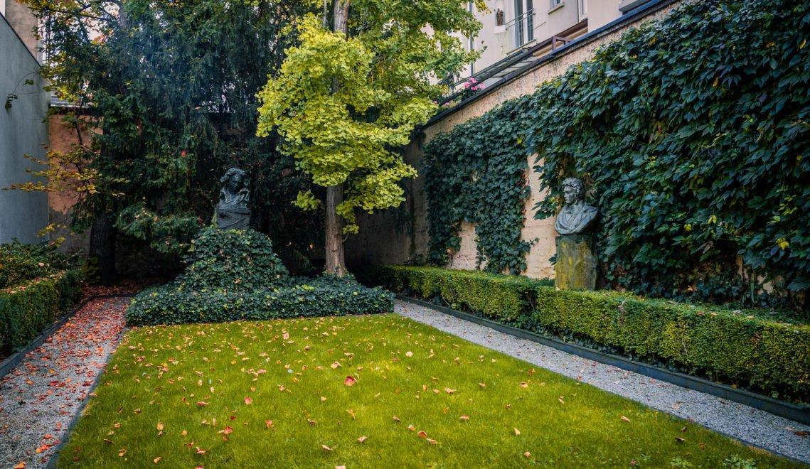 Garten in Beethovens Geburtshaus