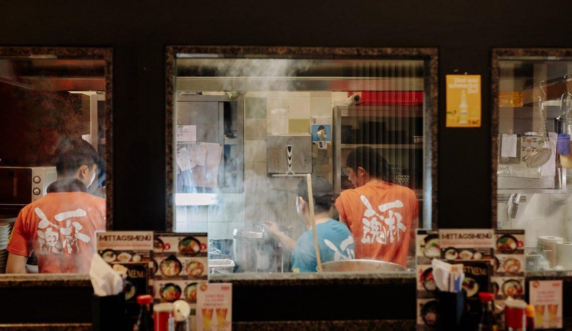 Das Restaurant Takumi in Klein Japan