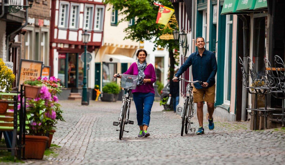 Radfahrer in Bad Münstereifel © Tourismus NRW e.V.