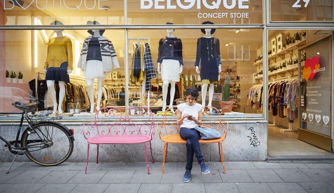 Shopping im Belgischen Viertel Köln
