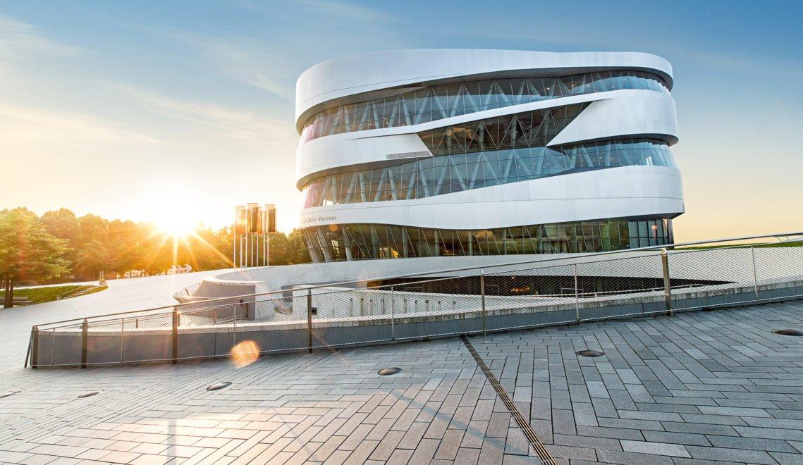 Das Mercedes-Benz MuseumThe Mercedes-Benz Museum von außen