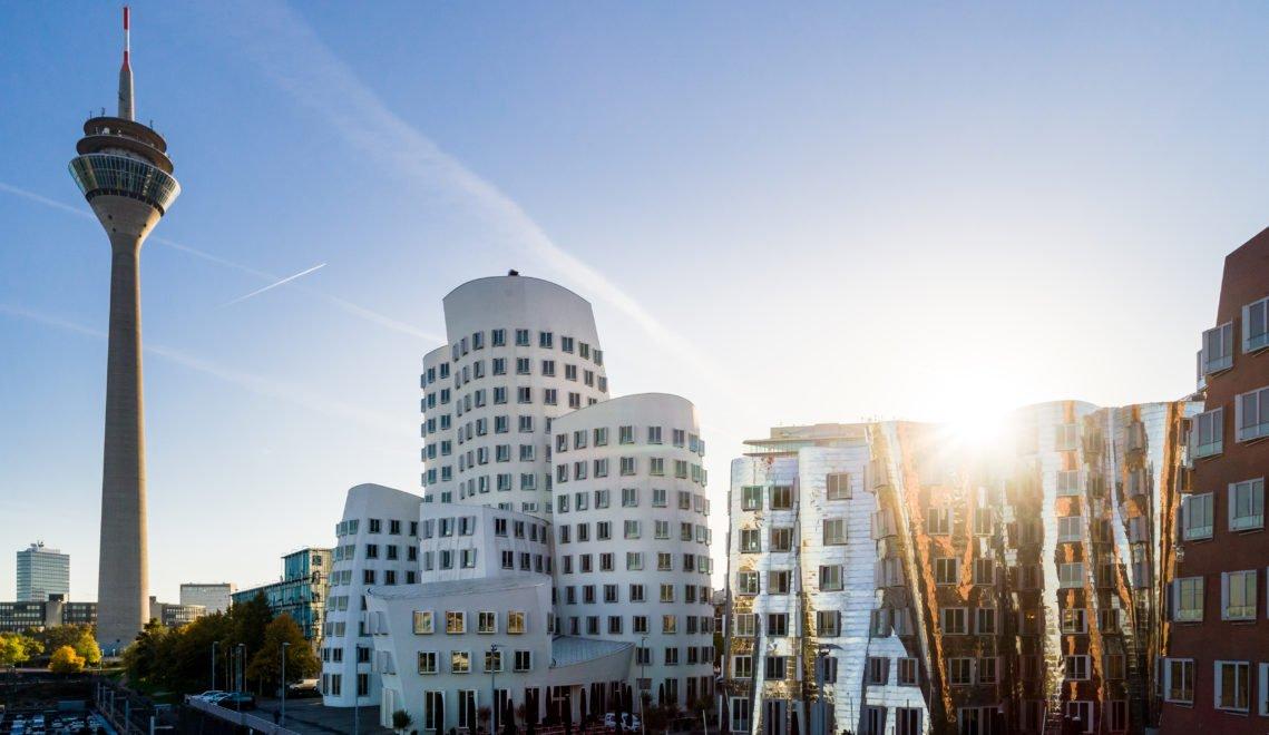 Der Düsseldorfer Medienhafen