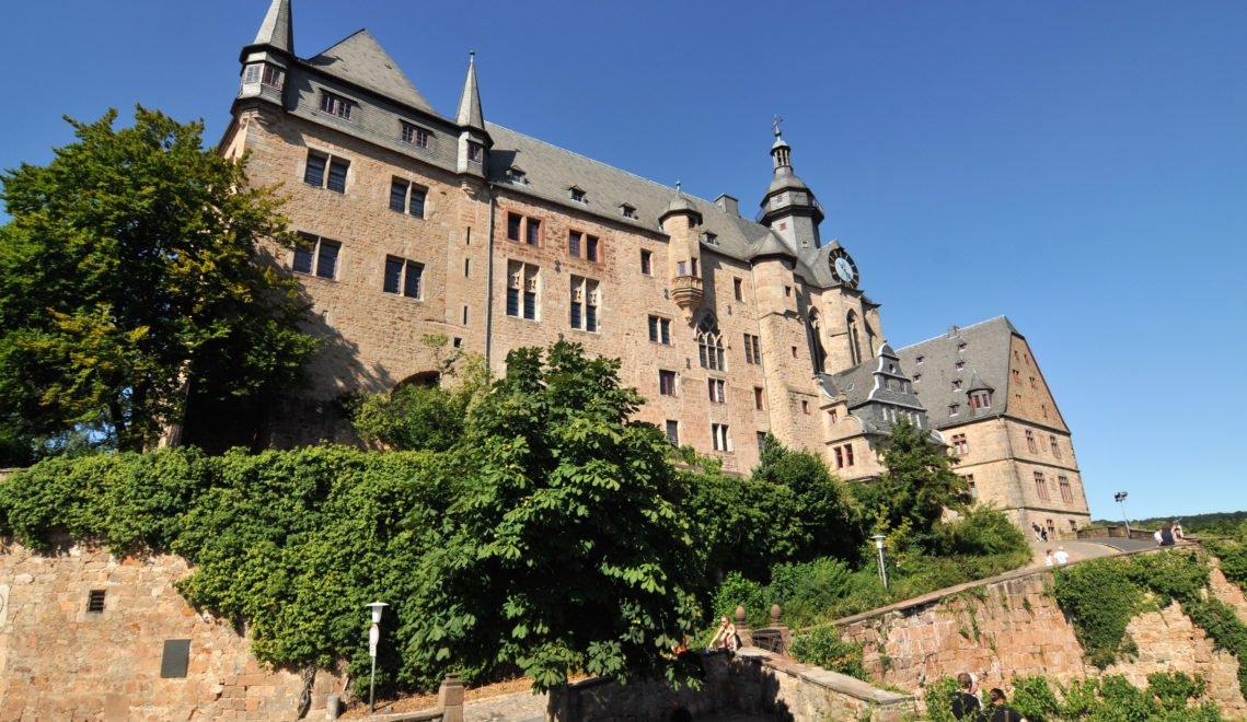 Das Marburger Landgrafenschloss gehörte einst zu den ersten Höhenburgen in Deutschland