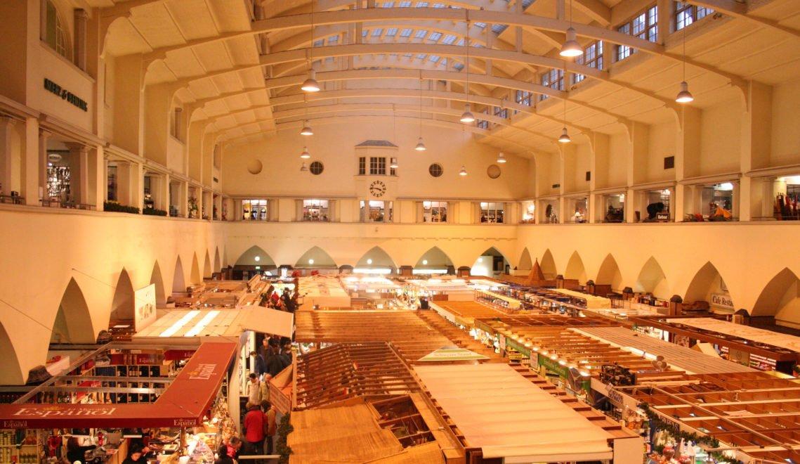 Die Stuttgarter Markthalle_Innenansicht