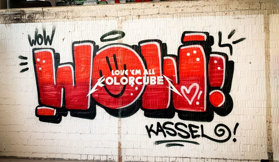 Bunte Wände für Kassel – die KolorCubes