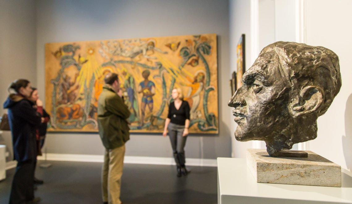 Die Kunstsammlungen Zwickau – Max Pechstein Museum beherbergen die weltweit größte Dauerausstellung mit Werken des gebürtigen Zwickauers