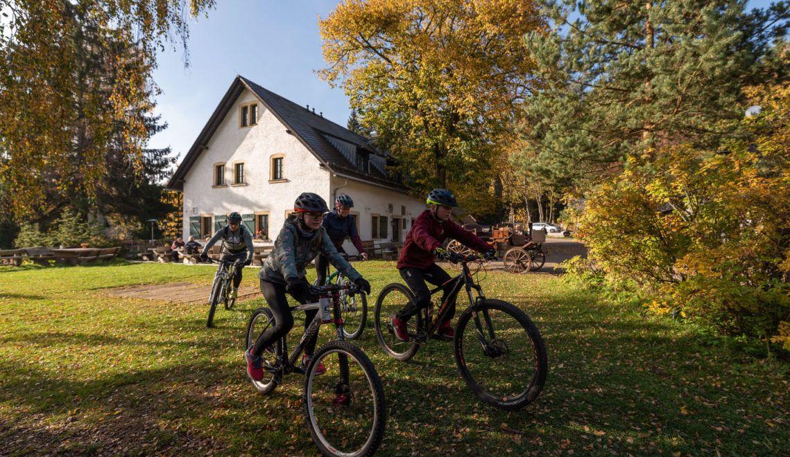 BLOCKLINE-Inns bieten Gelegenheiten zum Kraft tanken © TVE/Felix Meyer