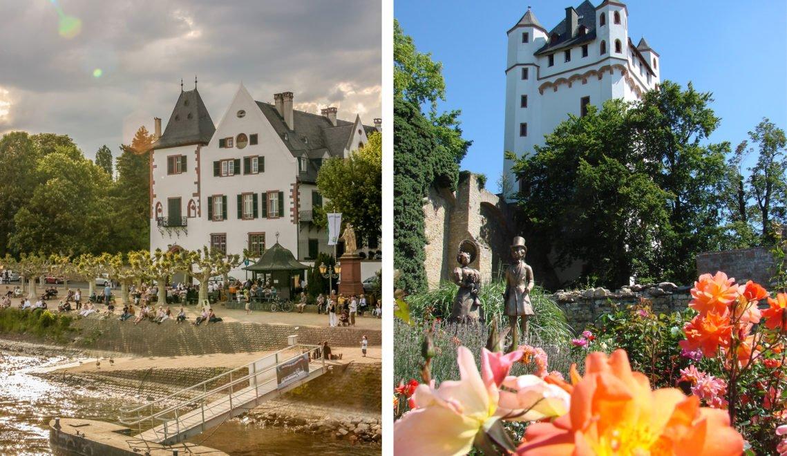 Hübsche Promenaden und eine Kurfürstliche Burg – Willkommen in Eltville © Stadt Eltville am Rhein & RHG/Christian Müringer