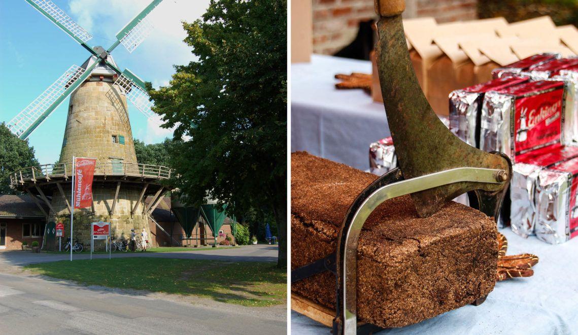 3 Zutaten und 24 Stunden: es wird nicht viel benötigt, um den beliebten Pumpernickel der Enking's Mühle herzustellen