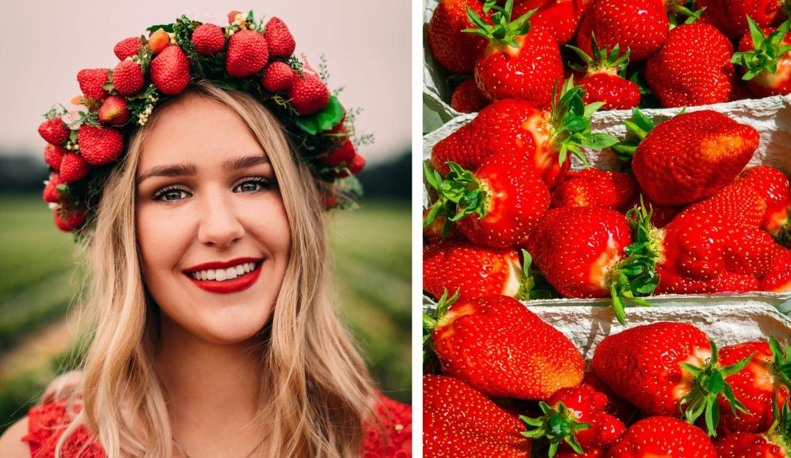 Mit der Wahl zum Erdbeerkönig oder zur Erdbeerkönigin, ist man für ein Jahr ein niedersächsischer Markenbotschafter. Die amtierende Erdbeerkönigin ist Pauline I.