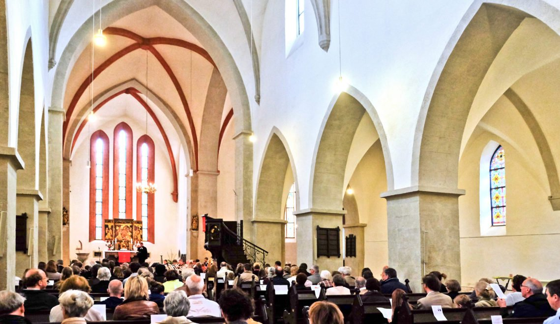 Die Grimmaer Frauenkirche – zu ihren bedeutendsten Schätzen zählt der um 1510 entstandene spätgotische Flügelaltar
