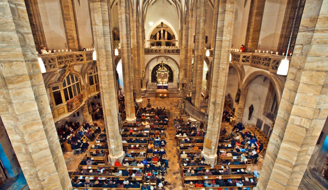 Der Freiburger Dom St. Marien ist eines der am reichsten ausgestatteten Gotteshäuser Sachsens