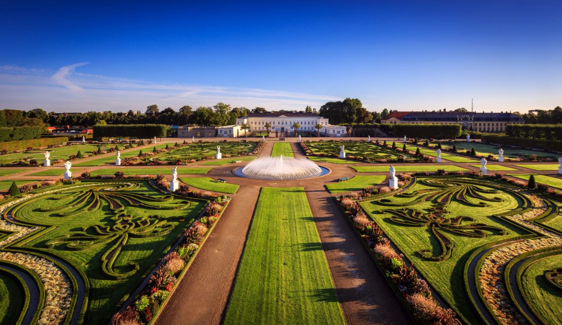Der Große Garten ist der wohl fulminanteste unter den Herrenhäuser Gärten