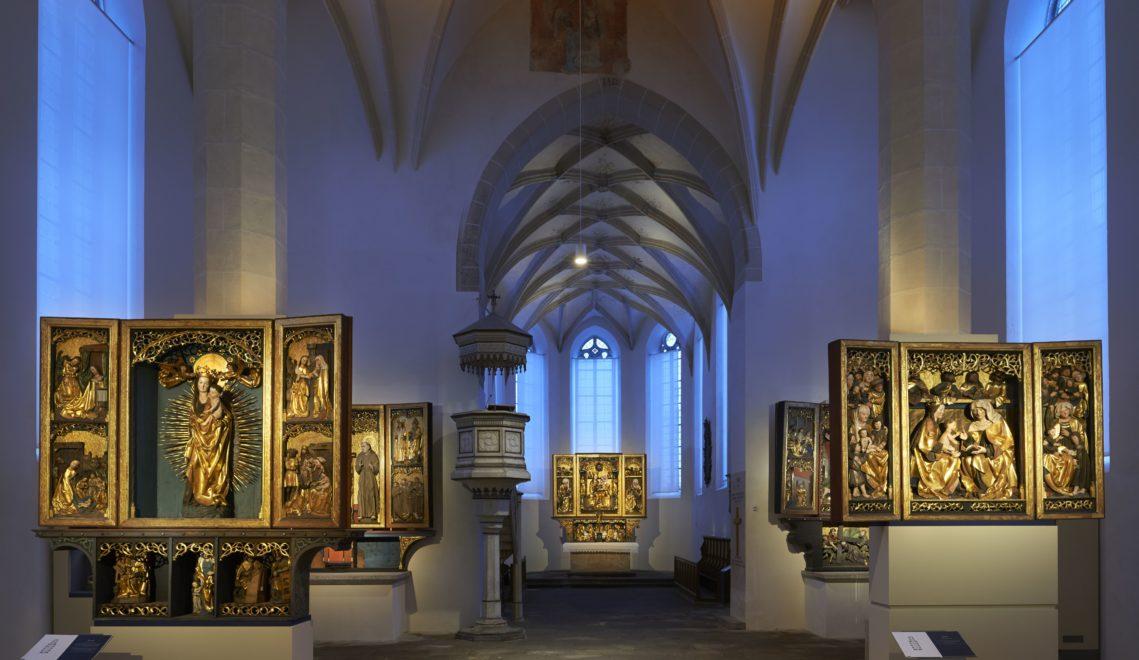 Seit 2011 ist die Klosterkirche St. Annen nicht nur Kirche, sondern auch ein sehenswertes Sakralmuseum