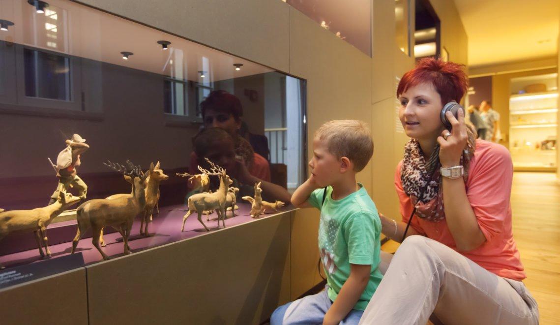Spielerische Entdeckungsreise durch das Erzgebirge - im Museum