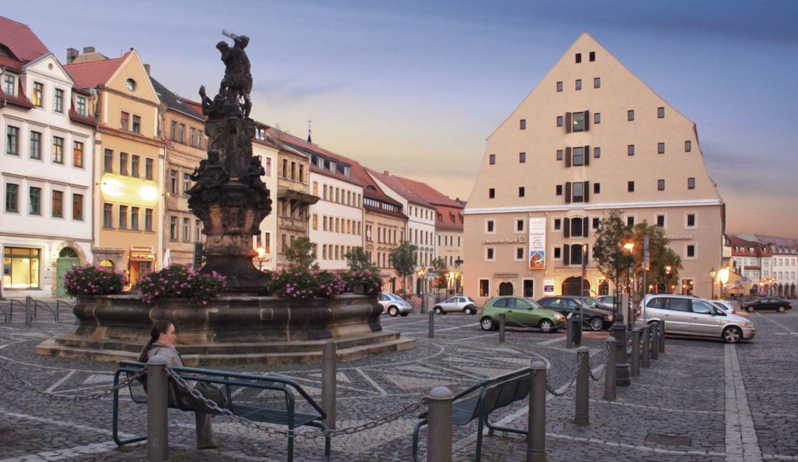Das Salzhaus in Zittau gehört mit seinen acht Geschossen zu den bedeutendsten Speicherbauten Deutschlands