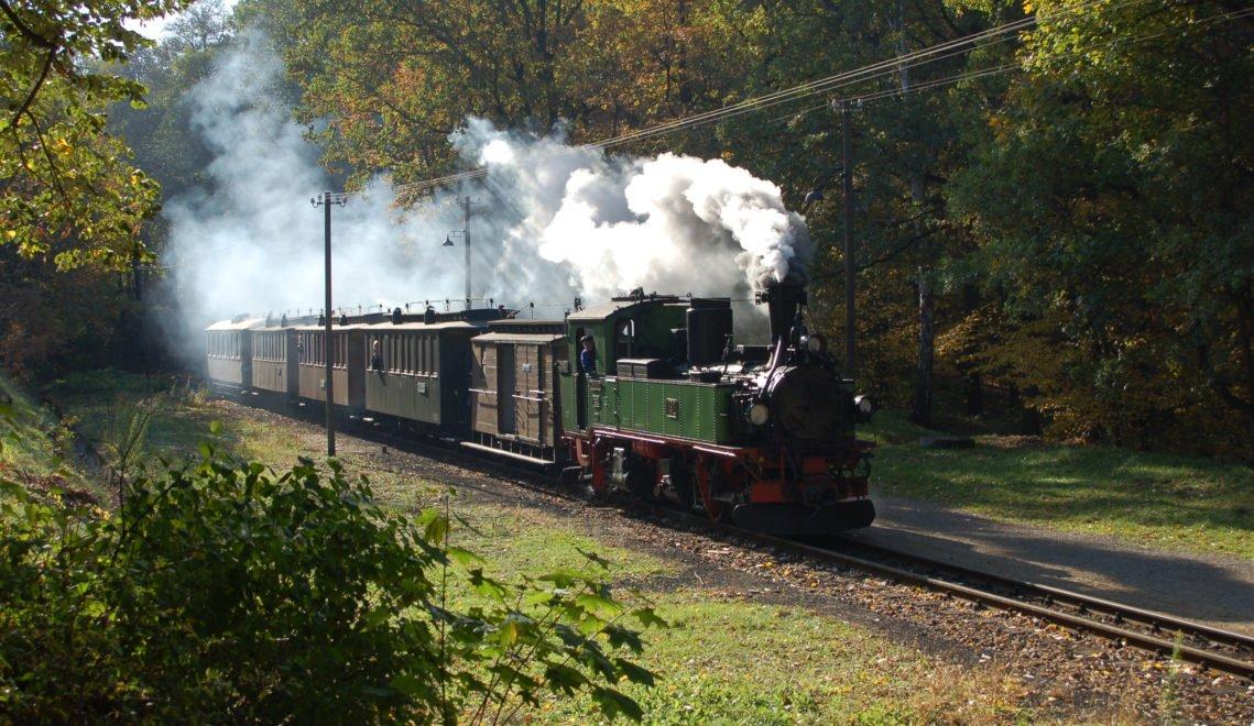 Die Lößnitzgrundbahn fährt immer noch täglich zwischen Radebeul, Moritzburg und Radeburg