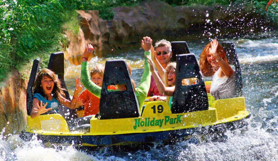 Feucht-fröhliches Freizeitvergnügen – der Donnerfluss im Holiday Park Haßloch