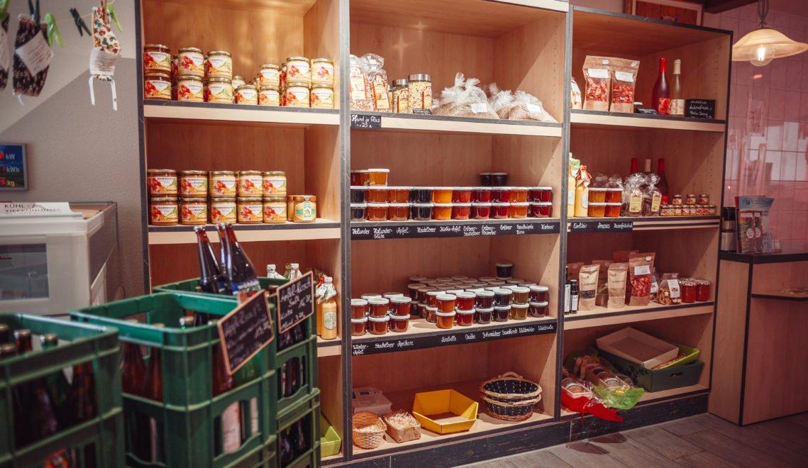 In Lueddeke's Hofladen könnt ihr die Wurstpraline und andere Spezialitäten kaufen